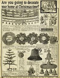 Christmas Decorations Sears Vintage Christmas Printable Old Catalogue Page Antique Holiday