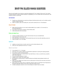 How To Write A Resume For Work Make Volunteer Study With No
