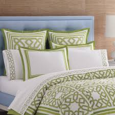 33 very attractive orange and lime green bedding white comforter sets delectable with bold shams 5 wedding