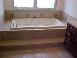 setting a bathtub install bathtub tile wall