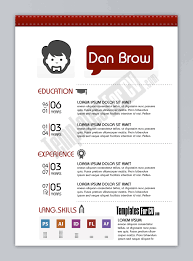Graphic Artist Resume Template Graphic Designer resume template preview How to write Resume 1