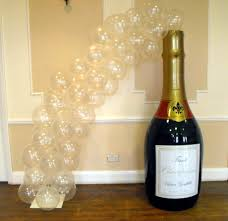 Champagne Bottle Decoration My Finishing Touch Balloon Artist And Event Decorations