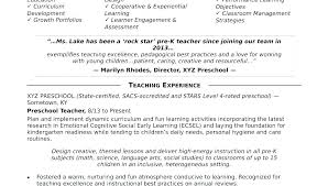 Teaching Resume Objective Examples Best of Objective For Teaching Resume Hflser