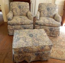 after graceful chair and ottoman slipcovers 19