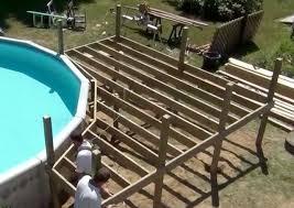 decks around pools pool deck plans