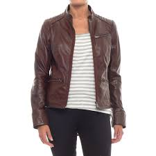 bod christensen roxanne hooded leather jacket for women