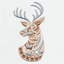 Bohemian Woodland Noel Reindeer Thread List Urban Threads