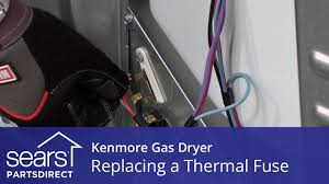 wiring a dryer fuse box how to replace a kenmore gas dryer thermal fuse how to replace a kenmore gas dryer