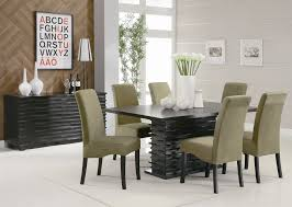 coaster stanton contemporary dining table  coaster fine furniture