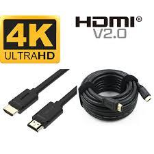 Cáp HDMI 2.0 Dài 2m 4K 2K HDR10 32 Àudio Chanels Unitek Y-C138M Chính Hãng