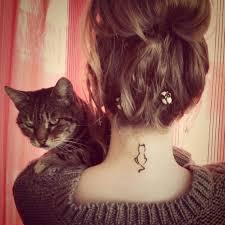 30 миниатюрных татуировок на шее которые наверняка придутся по душе