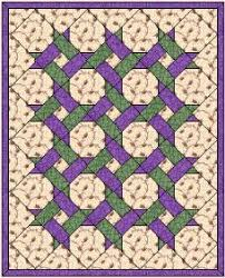 Small Picture Garden Lattice Quilt Pattern been quilting my Garden Twist