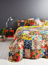 Multi Columbia Patch Bedding Set - Bedding sets - Home, Lighting ... & Multi Columbia Patch Bedspread Adamdwight.com