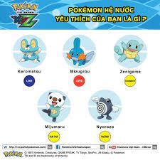 Pokémon hệ nước nào mem thích nhất vậy ? - Pokémon Việt Nam