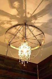 wagon wheel chandelier for mas mason jar pendant lights