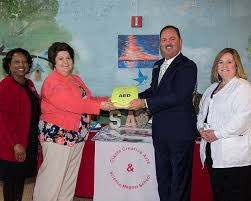Doctor, Genesis Donate AED to Olanta Elementary - Florence County School  District Three
