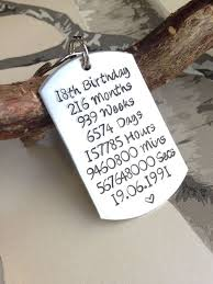 18th birthday gift 18th birthday birthday gift gift for 18th birthday present personalised keyring personalized keychain 18 angie