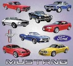 Ford Mustang Blanket Throw