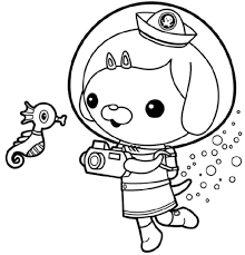 Small Picture Valuable Idea Barnacle Animal Coloring Pages The Octonauts