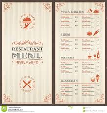 restaurant menu maker free elegant food menu military bralicious co