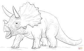 Coloriage Tric Ratops Coloriages Imprimer Gratuits Coloriage Dinosaure TriceratopsL