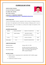 Fair New Model Resume Download In Hr Fresher Resume Template Free