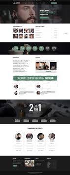 Barber Shop Website Salon Barber Shop Website Design Website Designs Pinterest