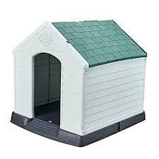 pengchen pet waterproof plastic dog kennel outdoor house