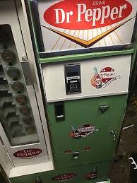 Dr Pepper Vending Machine For Sale Amazing VINTAGEDRPERRER COKE Vendo Cavalier 48s VENDING MACHINE