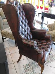 full size of chair adorable small leather wingback chair decoration ideas for desk brown tufted