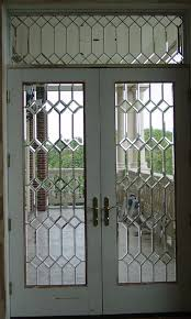 beveled glass entry doors leaded glass