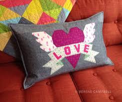 Tattoo quilt: LOVE | happy sew lucky patterns & kits & LoveHeart6HSL Adamdwight.com
