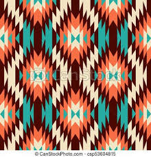Navajo Pattern Magnificent Ethnic Ornament Seamless Navajo Pattern Vector Illustration