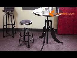 klarissa 30inch round pub style table