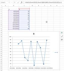 Excel Vba Create A Chart By Modifying The Series Formula