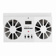 Solar Power Cooler Solar Power Car Air Cooler Ventilator Front Rear Window Air Vent