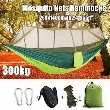 Outdoor Double Mosquito Net Hammock Tent Nylon Camping ...