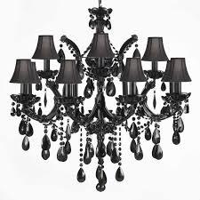 56 most blue chip pleasant great black crystal chandelier also of chandeliers otbsiu swarovski glass