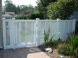 vinyl semi privacy fence. Unique Vinyl Vinyl Semi Privacy California Fence U0026 Gate To Privacy V