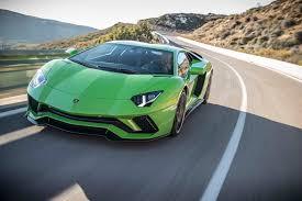 2018 lamborghini green.  green 2018 lamborghini aventador s front three quarters in motion on lamborghini green