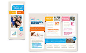 carpet cleaning flyer carpet cleaning brochure template design