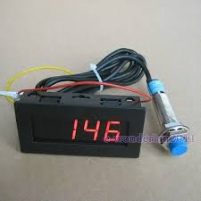 4 wire tach wiring 4 digital red led tachometer rpm speed meter proximity switch proximity switch sensor npn 3 wires