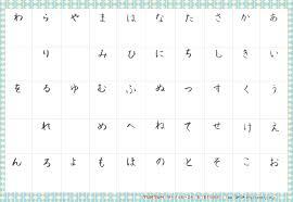 Hiragana Number Chart 27 Downloadable Hiragana Charts