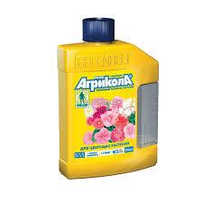 <b>Удобрение для цветущих</b> растений Агрикола аква, 250 мл ...