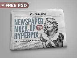 Victorian Era Newspaper Template Free Download Newspaper Mockup By Hyperpix Dribbble Dribbble