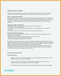 Good Objective Statements For Entry Level Resume Good General Objective For Resume Emelcotest Com