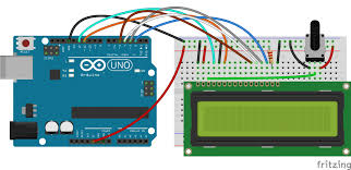 arduino lcd set up and programming guide also you might need to er a 16 pin header to your lcd before connecting it to a breadboard follow the diagram below to wire the lcd to your arduino