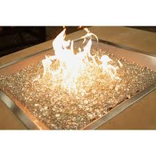 crystal fire stainless steel burner kit propane fire pits at
