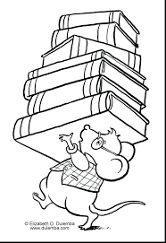Coloring Page Binder Cover Library Mouse Coloring Page Library Coloring Pages Binder Cover