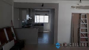 kitchen viewing glass and sliding glass door singapore hdb yishun